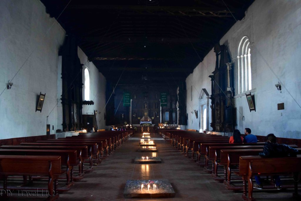 Chichicastenango Iglesia de Santo Tomas Interior