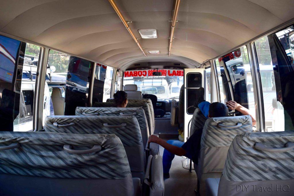 Coban to Nebaj Microbus