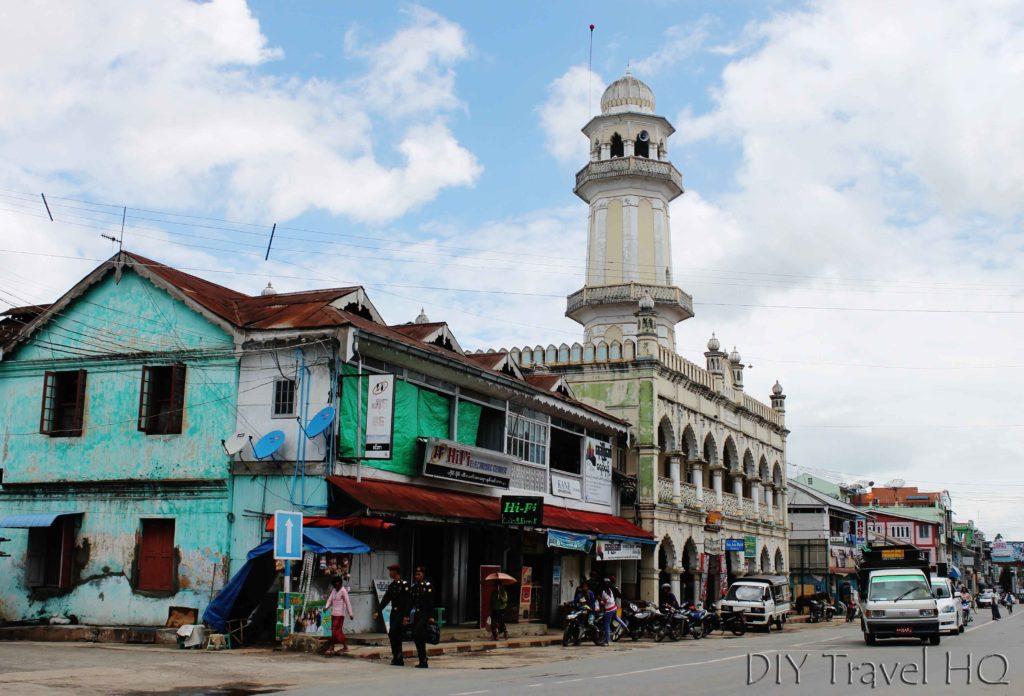 Pyin Oo Lwin town center