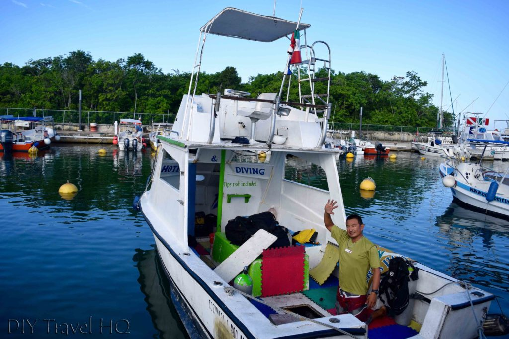 Agave Azul dive boat