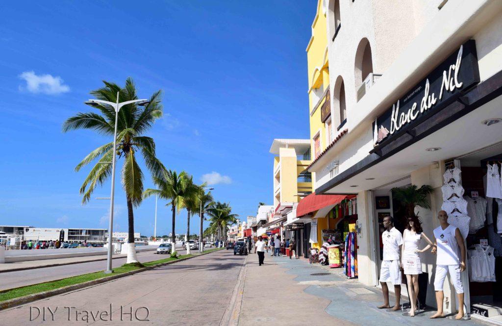 Waterfront boulevard