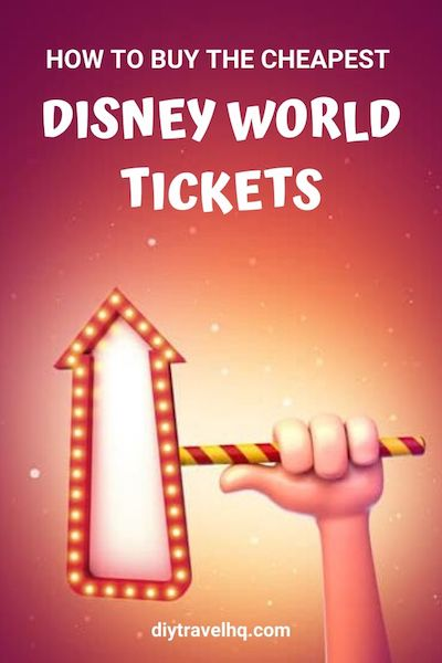 Planning to do Disney World on a budget? We have all the secret tips and trick! Check out our post to find out all the different types of Disney World tickets available - and where to find them at the cheapest price... #disneyworld #disney #disneytips #disneytickets