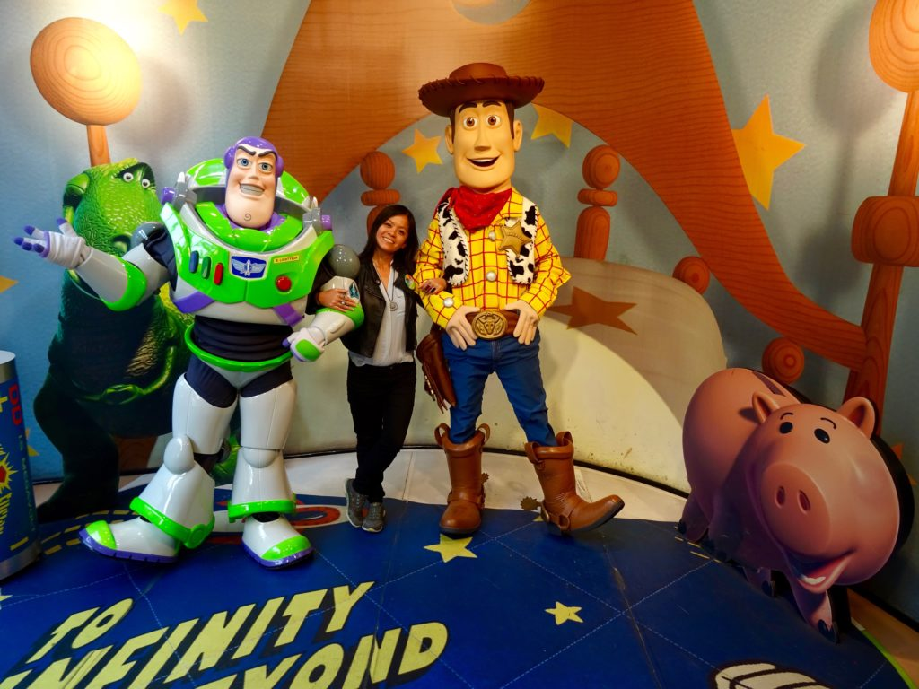 Me with Buzz & Woody