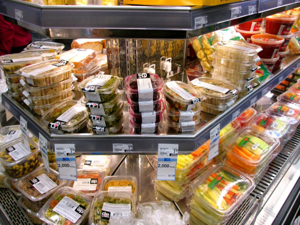 Sandwiches from Supermarket
