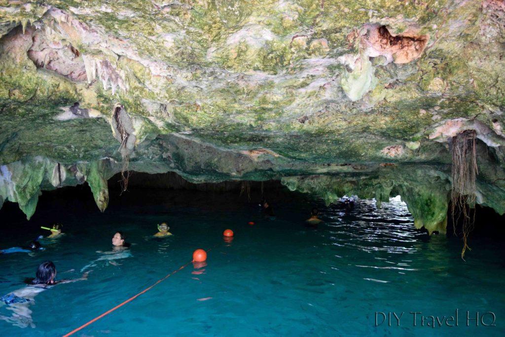 Cave entrance to Gran Cenote