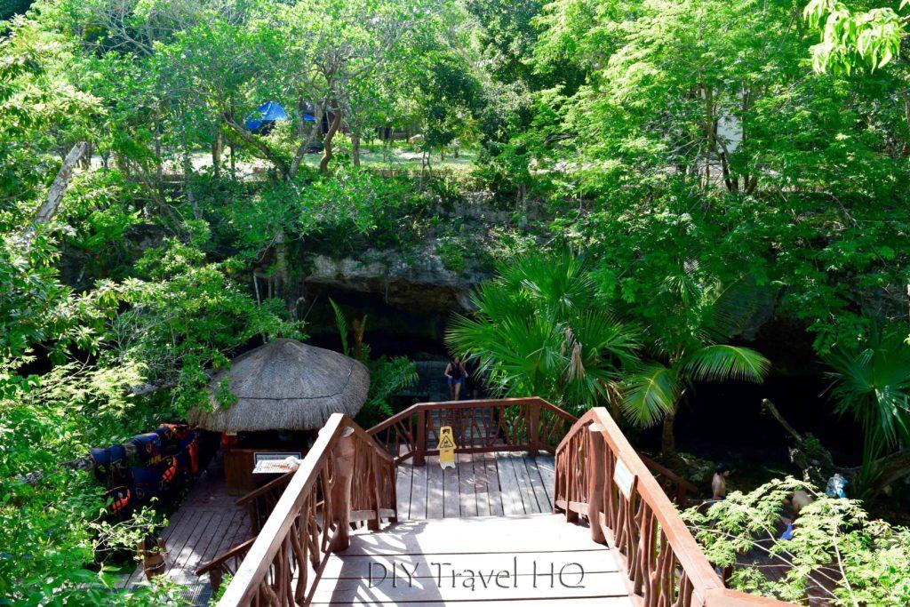 Gran Cenote Entrance