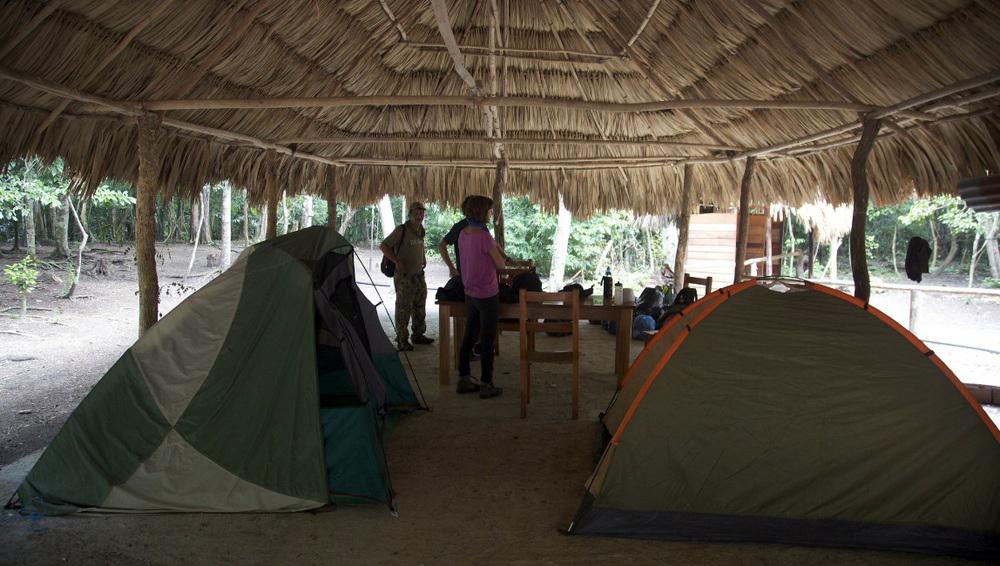Hike to El Mirador Camp Site