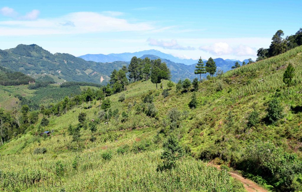 Hike to San Juan Atitan Valley