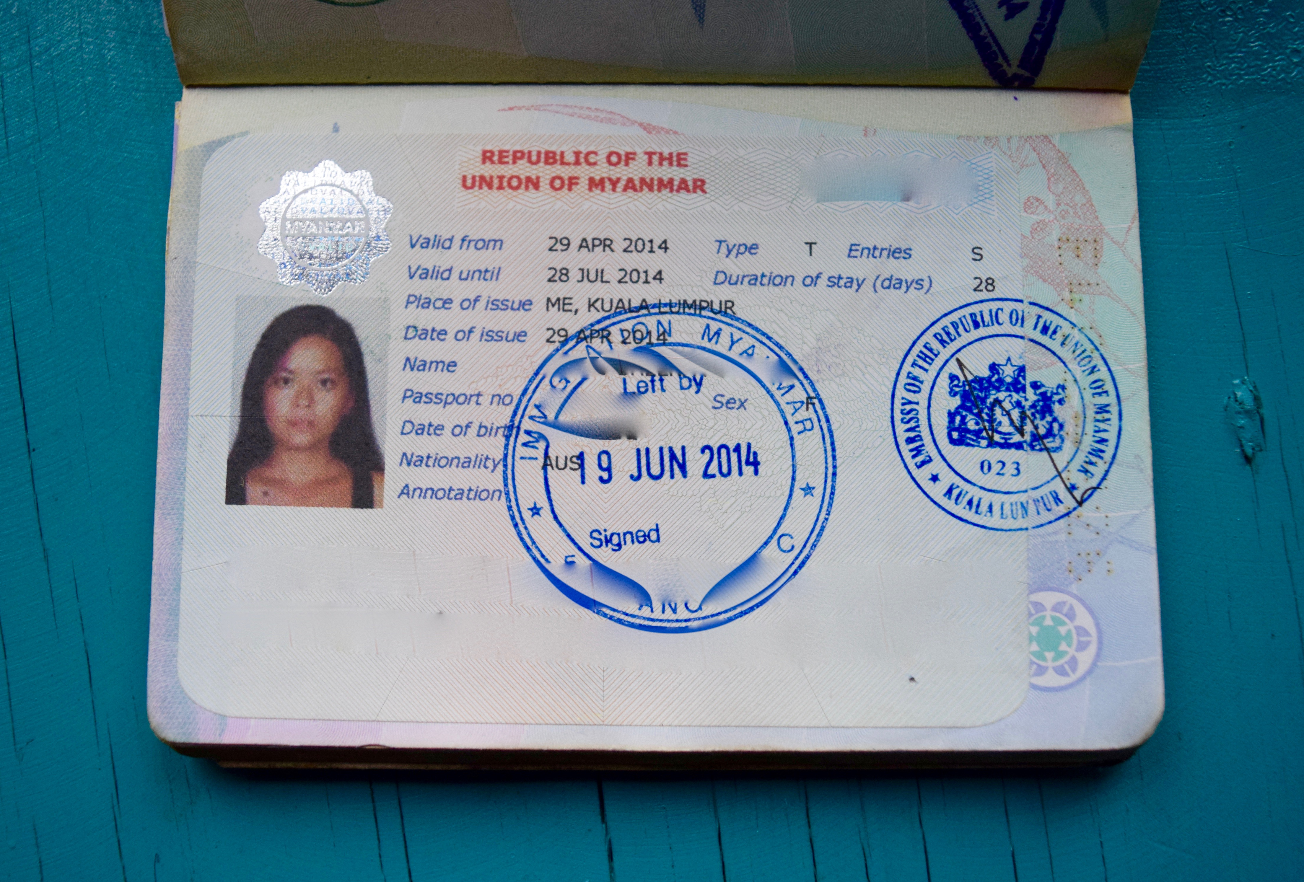 How To Apply For A Myanmar Visa In Malaysia Diy Travel Hq