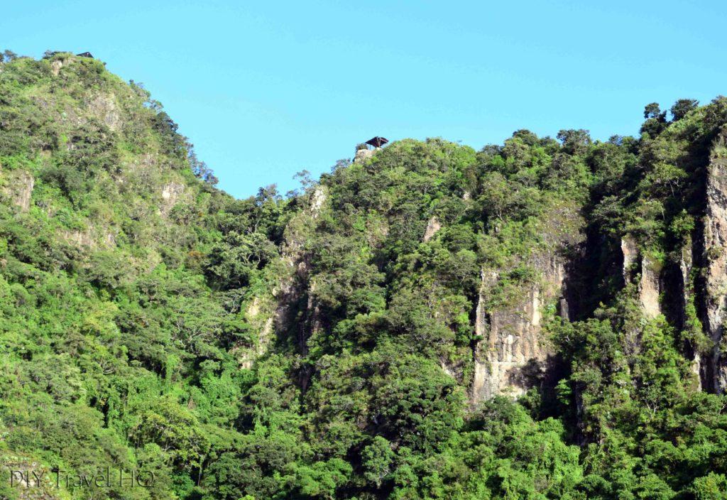 Indian Nose Lookout Pavilions View from San Juan La Laguna