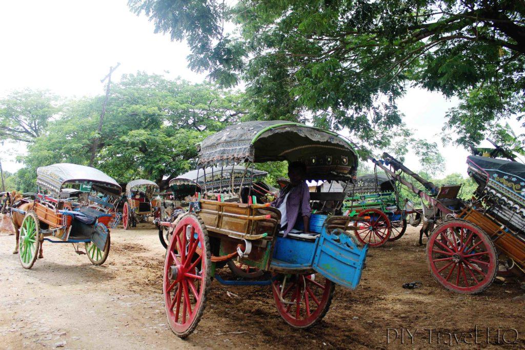 Horse buggy on Inwa Island