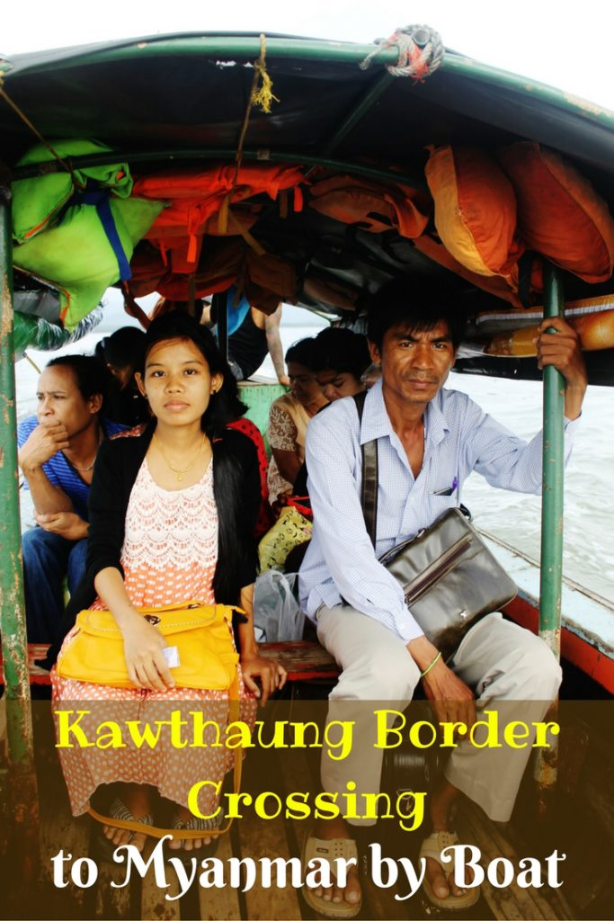 Kawthaung Border Crossing to Myanmar by Boat
