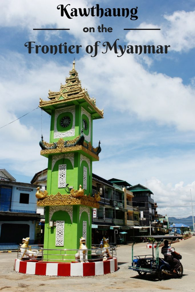 Kawthaung on the Frontier of Myanmar