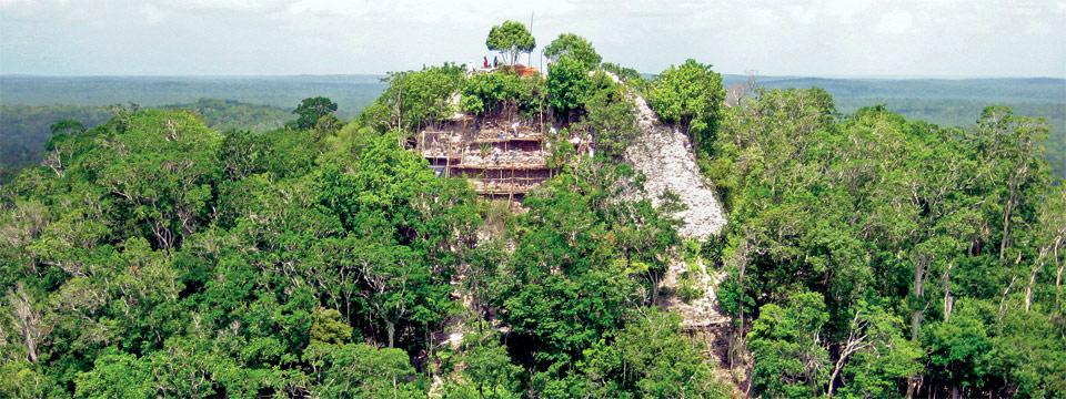 La Danta Pyramid at El Mirador, Guatemala