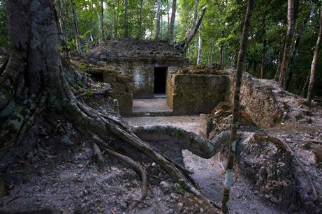 La Florida Ruins on El Mirador Hike