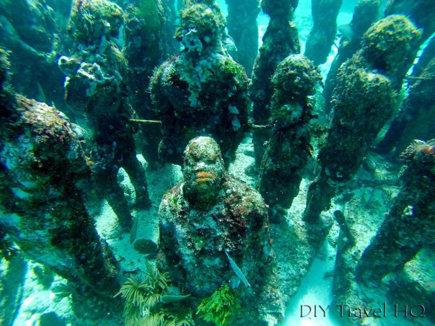MUSA Underwater Sculpture Museum: Cheap Dive Tour!