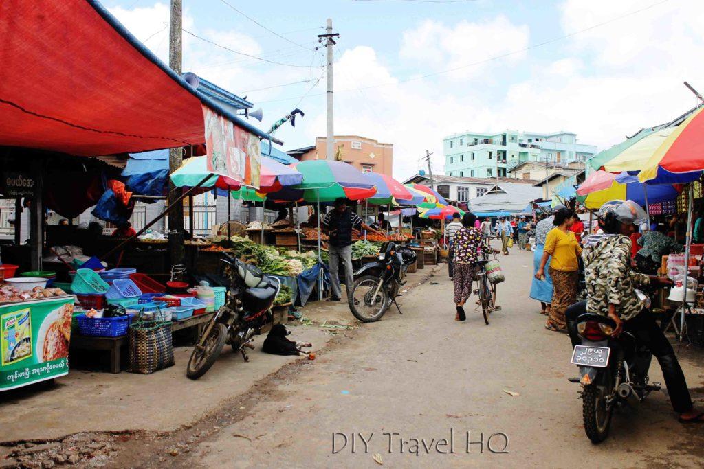 Central Market in Pyin Oo Lwin