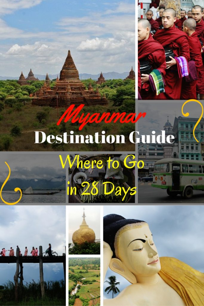Myanmar Destination Guide Where to Go in 28 Days