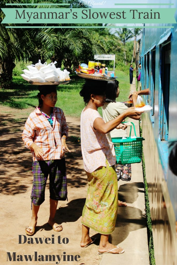 Myanmar's Slowest Train: Dawei to Mawlamyine