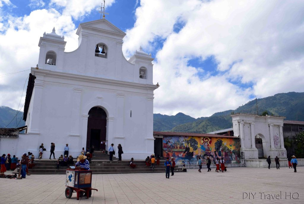 Nebaj Main Plaza and Church Iglesia Catolica