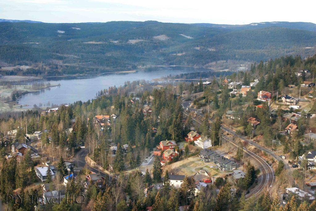 Views of Oslo from Holmenkollen
