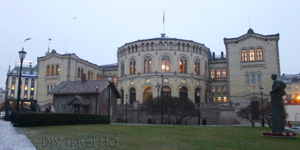 Norwegian Parliament building