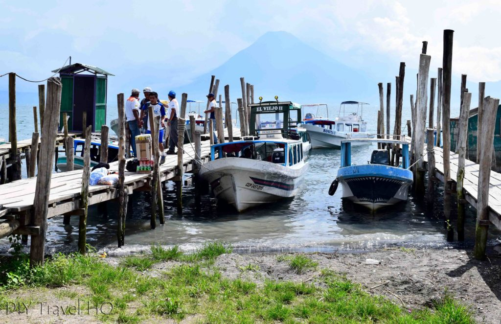 Panajachel Boats to Lake Atitlan Villages