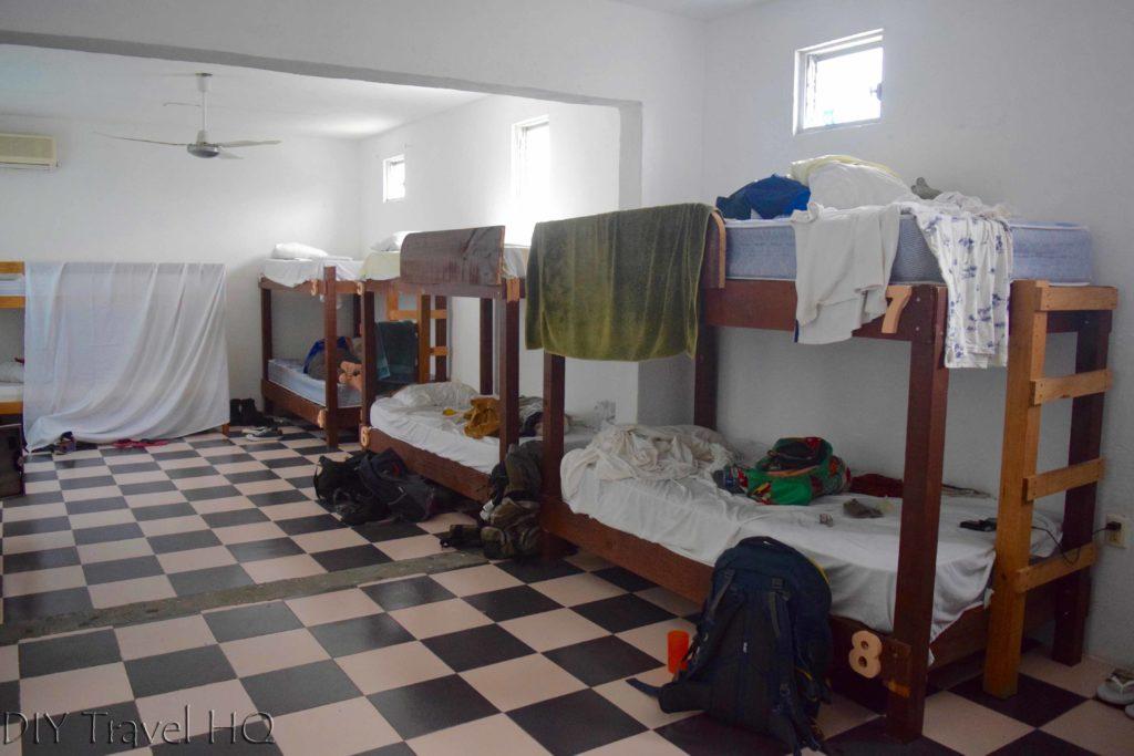 Dorm at La Tortugal Azul Hostel