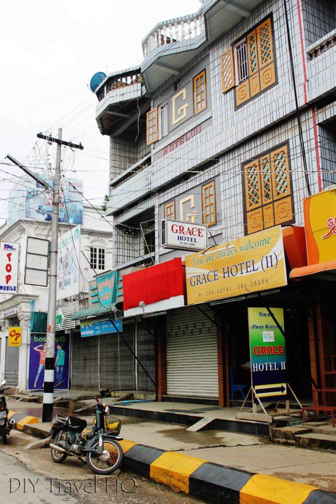 Grace Hotel in Pyin Oo Lwin