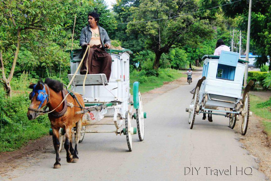 Horse carriage in Pyin Oo Lwin