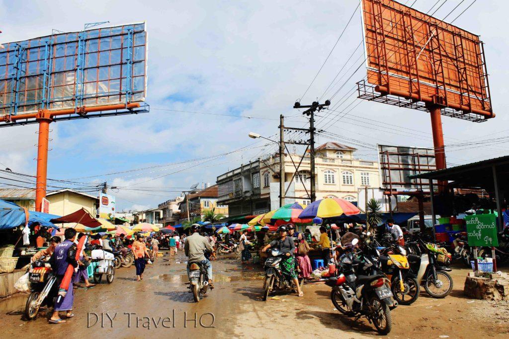 Market in Pyin Oo Lwin