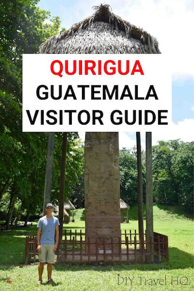 Quirigua is one of the best Mayan ruins in Guatemala. From prices to how to get there, find out everything you need to know to plan your visit | Monolito de Quirigua | Estela Quirigua #quirigua