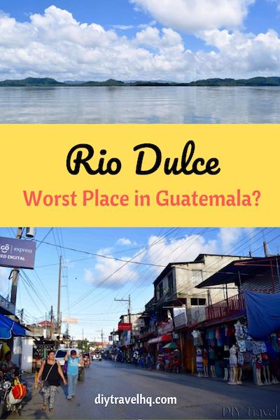 Rio Dulce boat tour