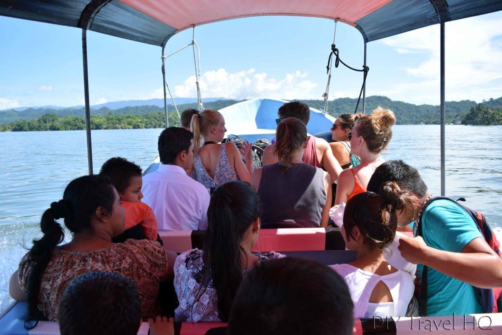 Rio Dulce Town Boat Tour to Livingston
