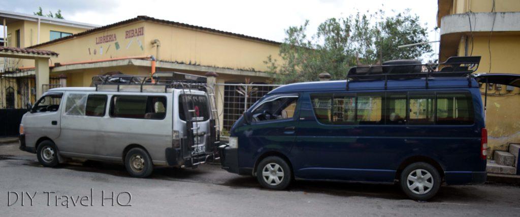 Rio Dulce Town Microbuses to Finca El Paraiso