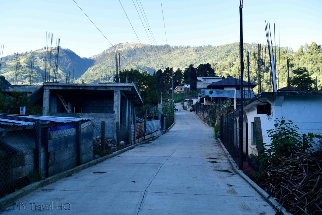 Road to Tucumanchum on Hike to San Juan Atitan