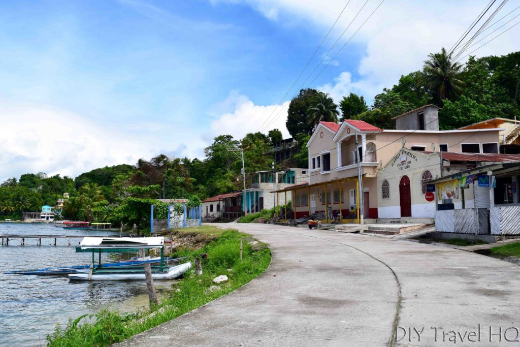 San Miguel Town and Ferry Landing