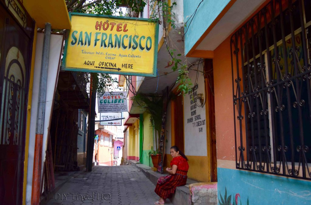 San Pedro La Laguna Cheap Hotel Alley