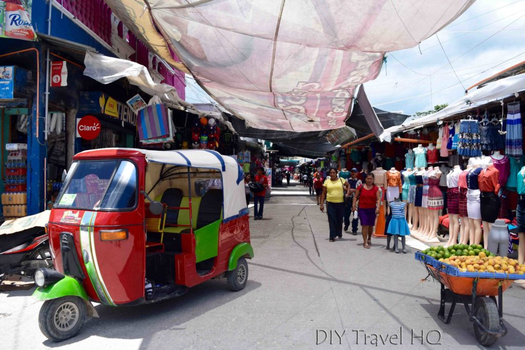 Flores, Guatemala Market