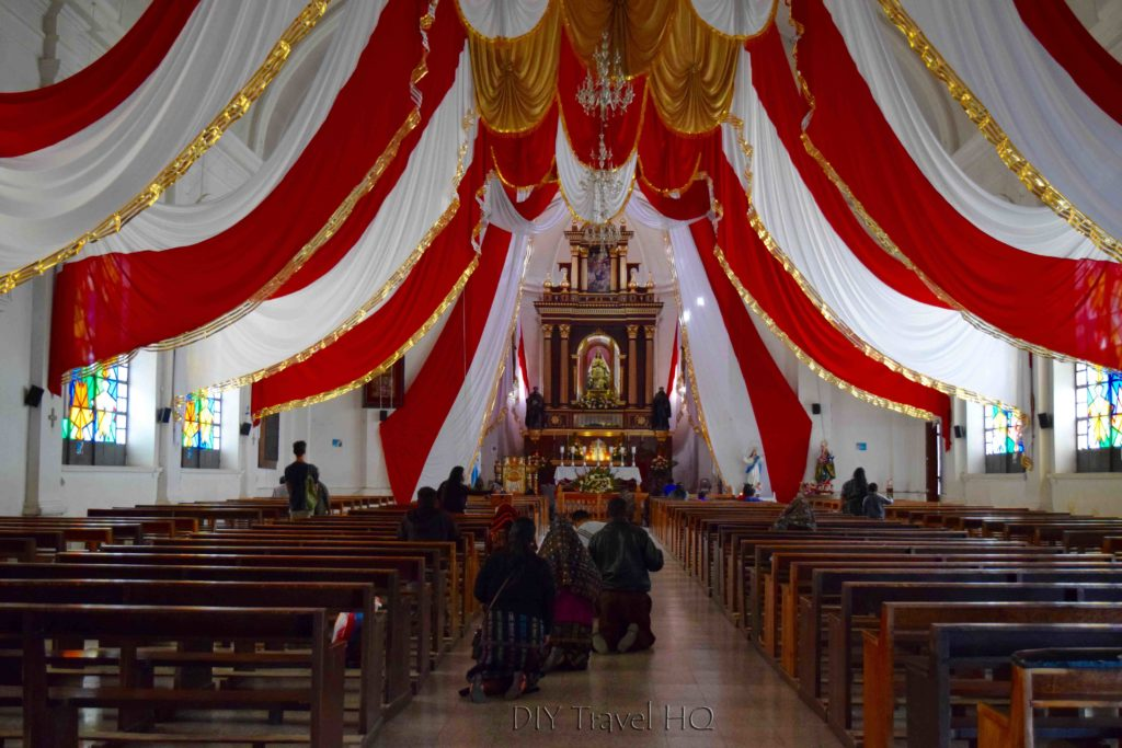 Solola Church Interior