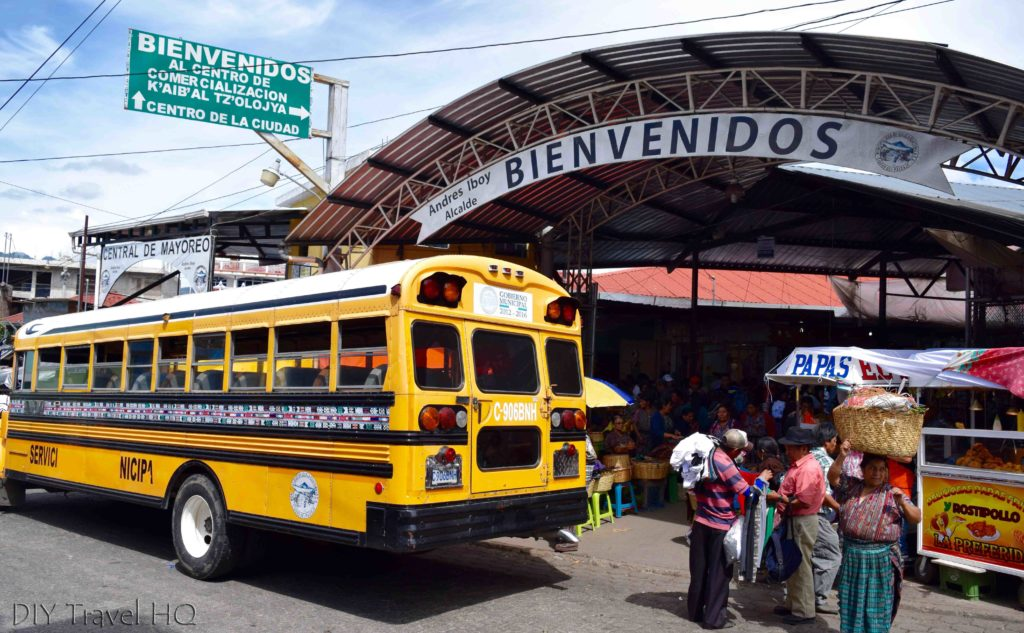 Solola Market Entrance