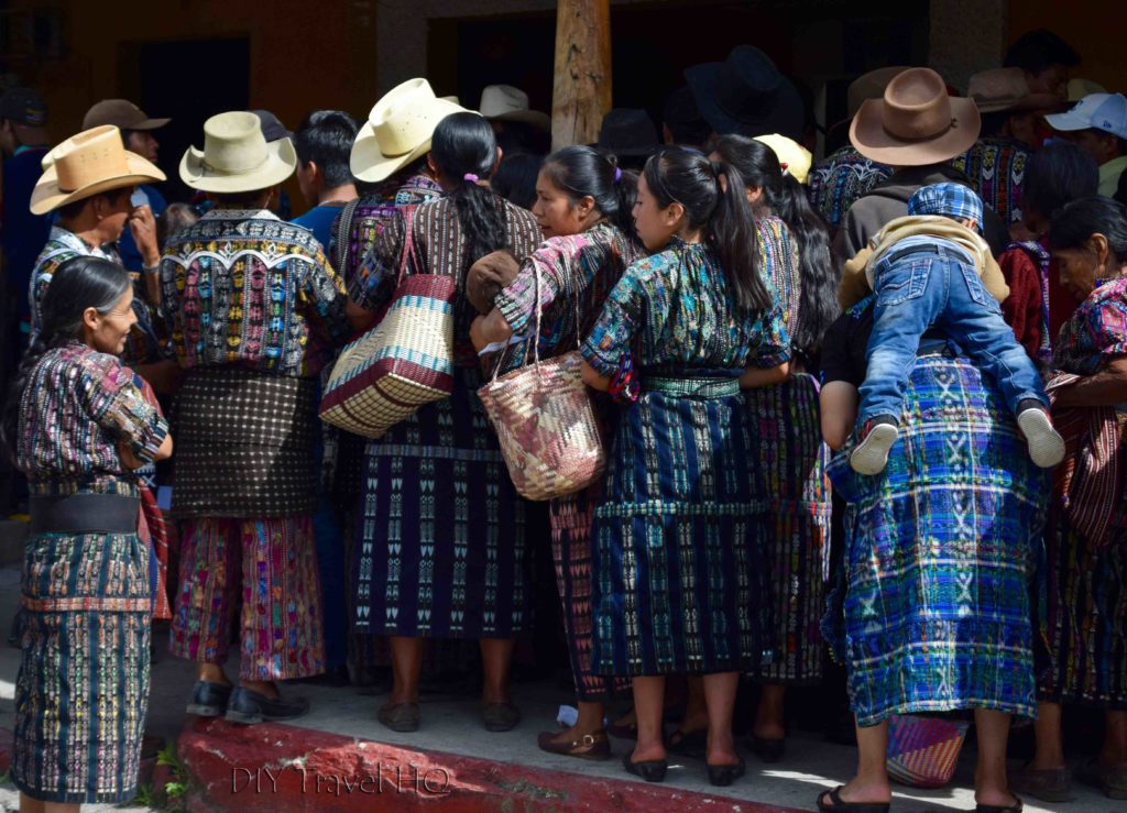 Solola Men & Women in Traditional Clothing