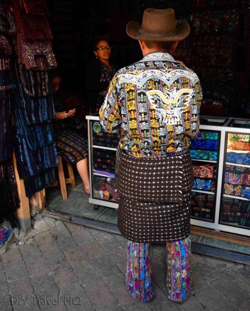 Solola Traditional Clothing Market