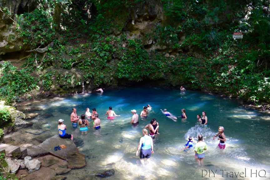 Visit St Herman's Blue Hole National Park