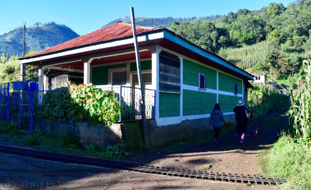 Start of Hike to San Juan Atitan
