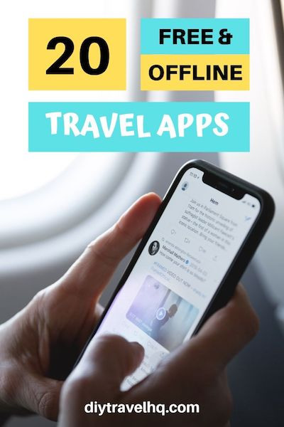 Looking for the best travel apps? We've got 20 free travel apps which can be used offline. Find out which travel apps will make your travel planning easier! #travelapps #traveltips #diytravel