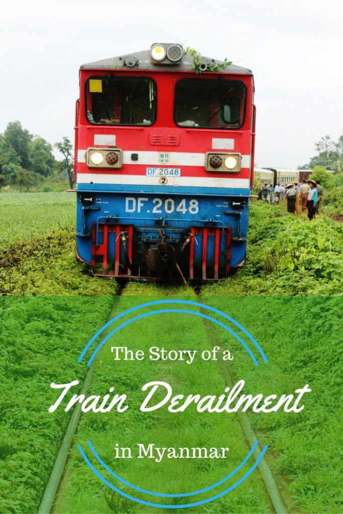 The Story of a Train Derailment in Myanmar
