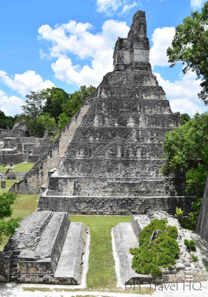 Tikal Ruins Ball Court