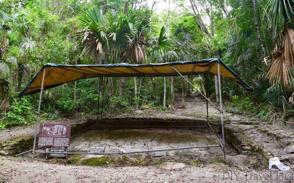 Tikal Engraved Rock Near North Zone