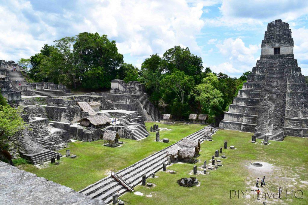 Tikal Ruins Grand Plaza